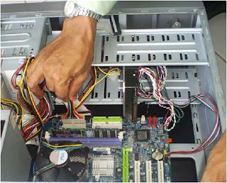 langkah dalam merakit komputer