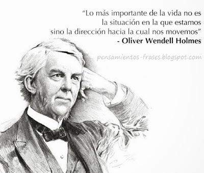 frases de Oliver Holmes