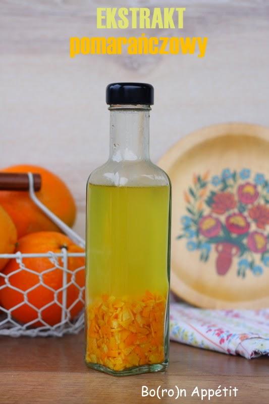 domowy ekstrakt pomarańczowy