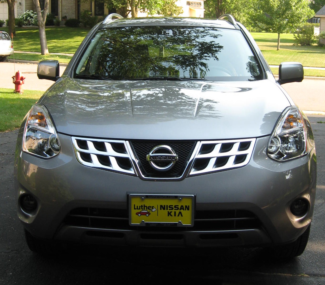 2012 Nissan Rogue Camshaft: The Wifely Person Speaks: Presto! Change-o! It's A Rogue