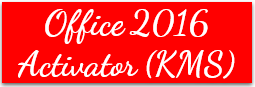 Office 2016 Activator
