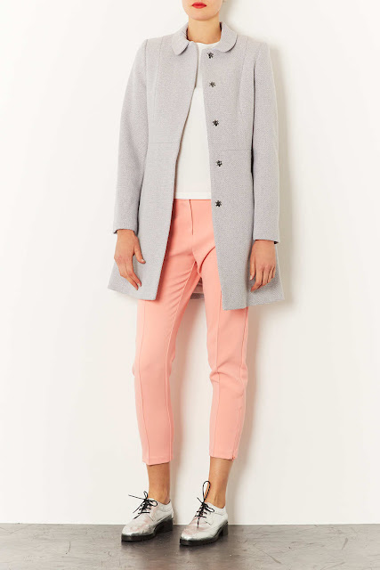 pale swing coat