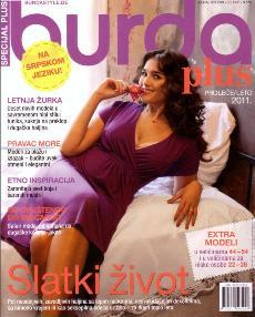 Burda Special Plus E 016 2011 Мода для полных Весна-лето
