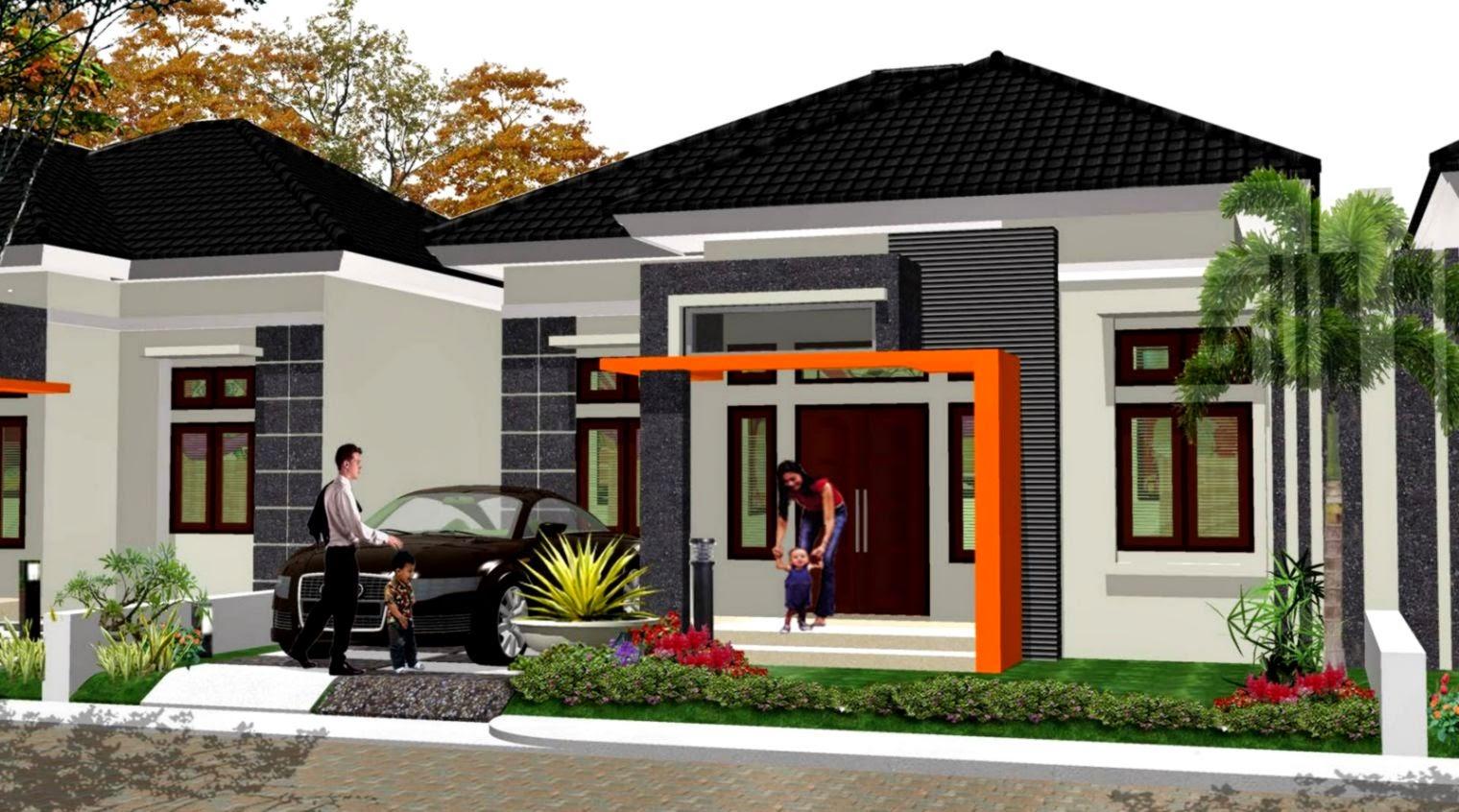 Desain Rumah Modern Minimalis 1 Lantai Design Rumah Minimalis