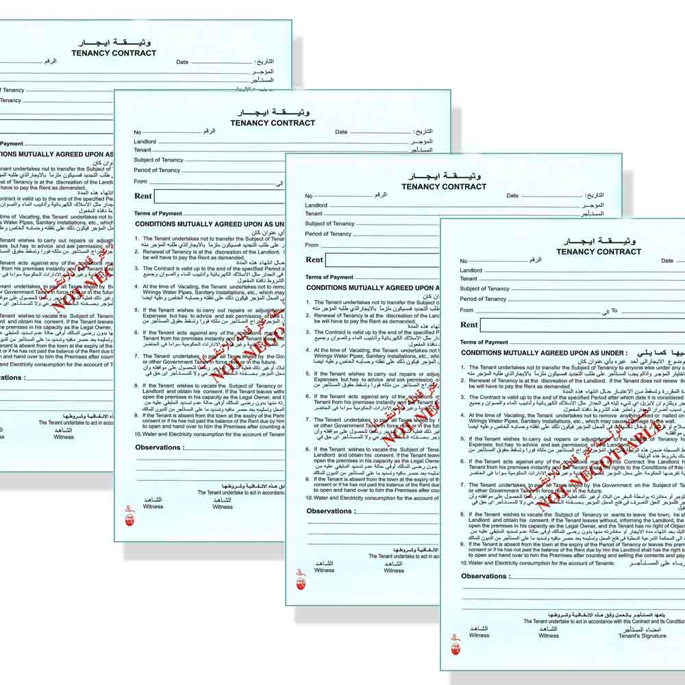 Tenant Contract Template - Home rental contract template