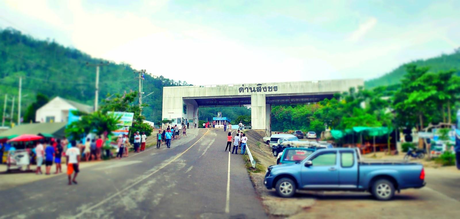 Dan Singkhon Border