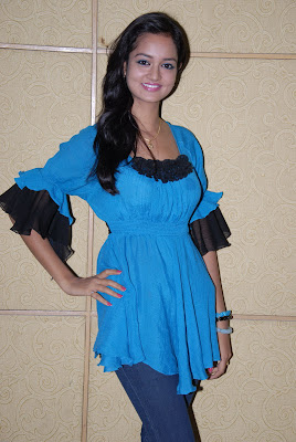 shanvi at lovely movie success meet