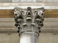 Capitel corintio. Orden Corintio. Ordenes antiguos. Ordenes griegos. Capiteles griegos. Arquitectura Griega
