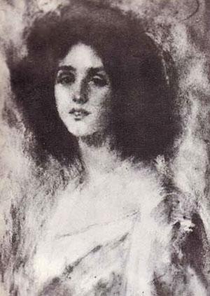 Retrat de Renée Vivien (Alice Pike Barney)