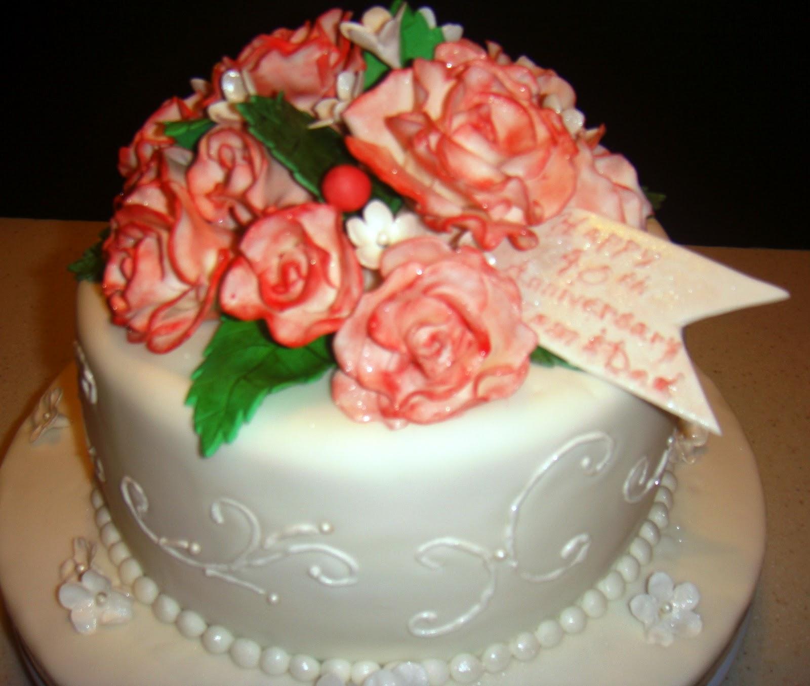 MaryMel Cakes 40th anniversary