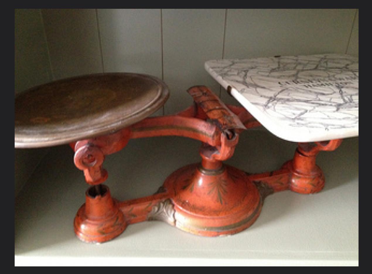 Antique Gurney & Ware Scale