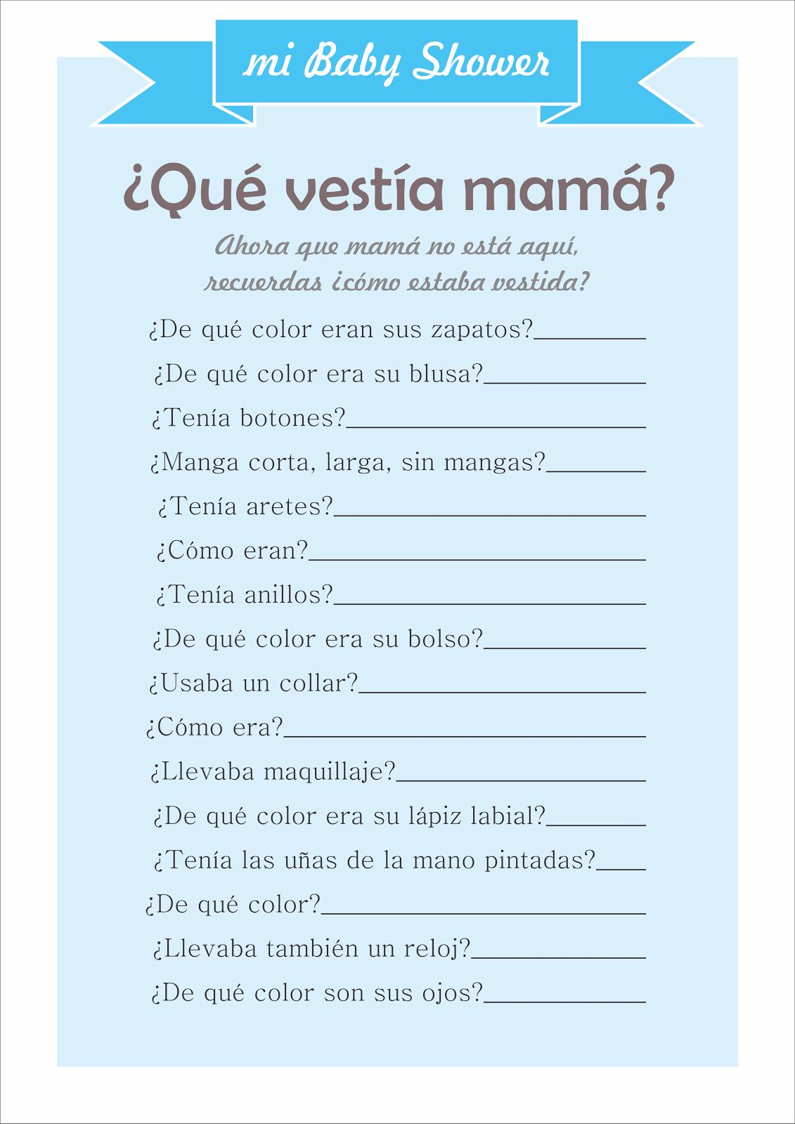 ¿Qué Vestía Mamá?