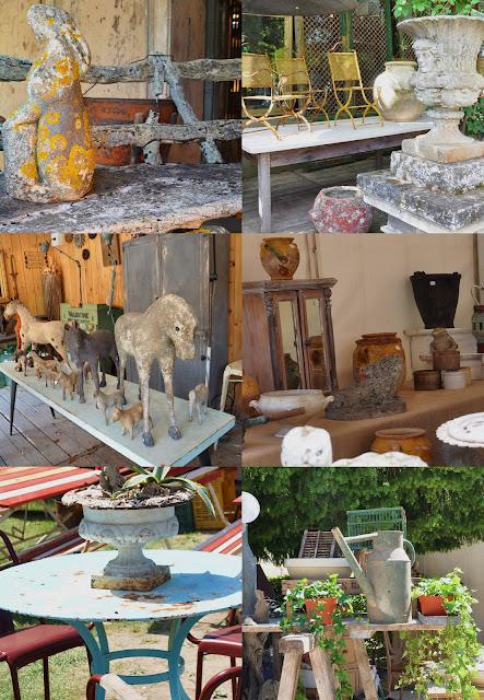foire isle sur la sorgues antiquités de provence