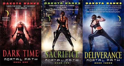 Mortal Path series by Dakota Banks
