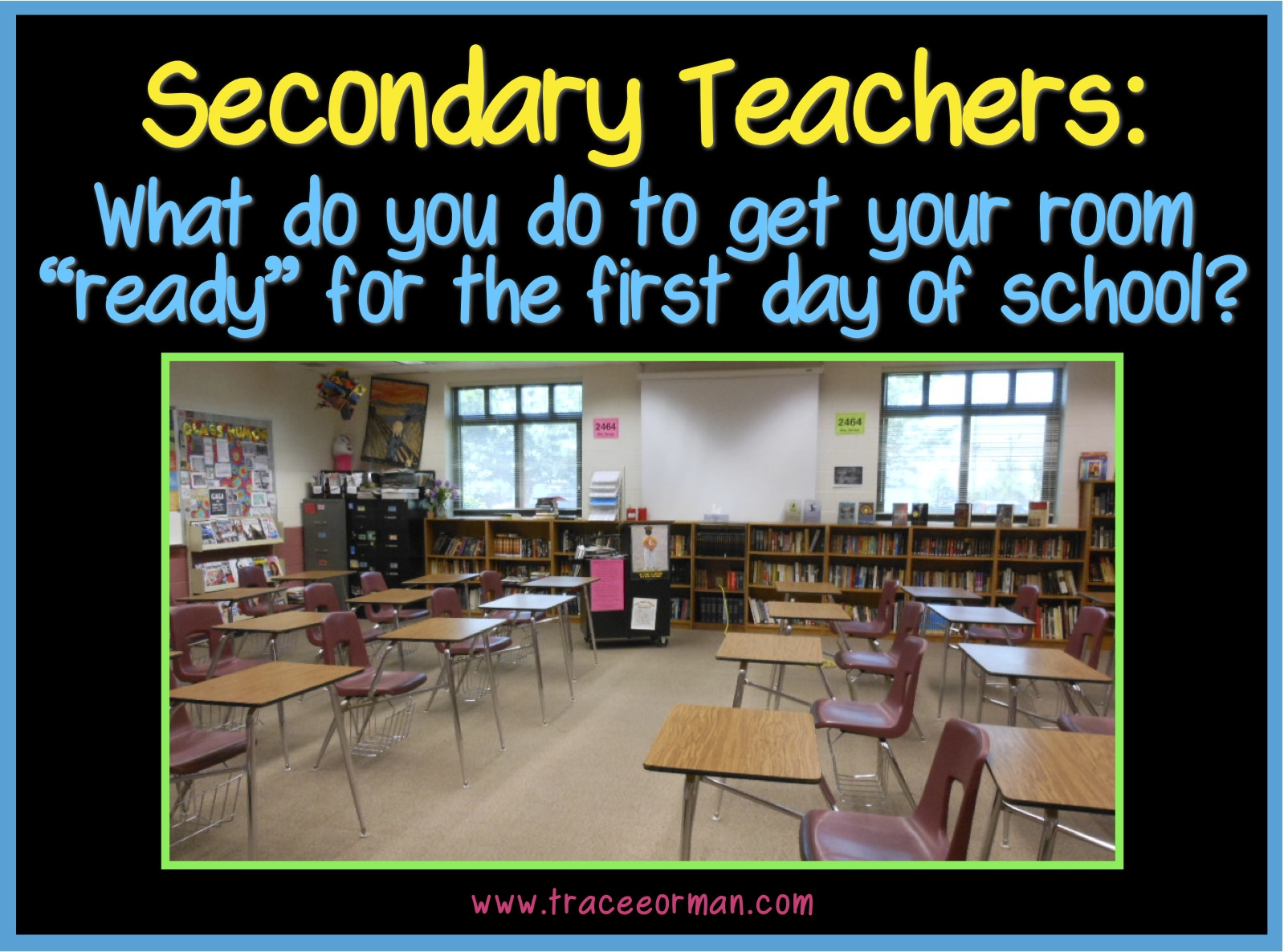 Classroom Decoration Ideas Questions : High school english classroom decorating ideas