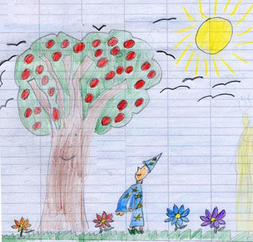 La Barda Maestra Prendi Un Foglio Disegna Un Albero E Guardati Dentro