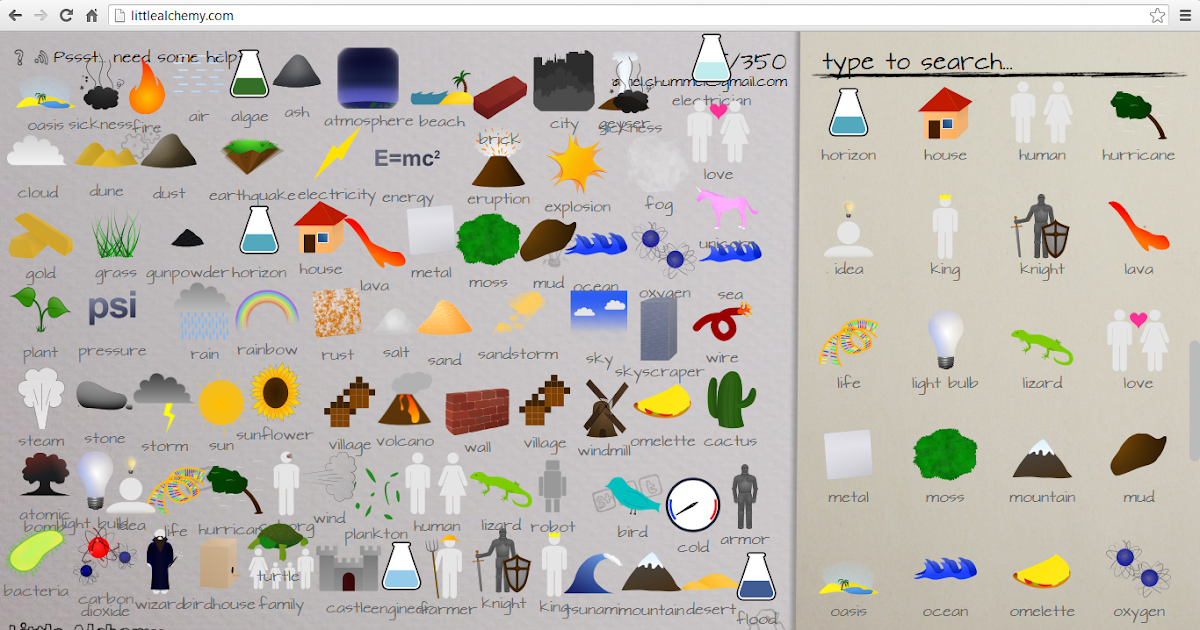Amelia rahmawati formula of little alchemy game for How to make fish in little alchemy