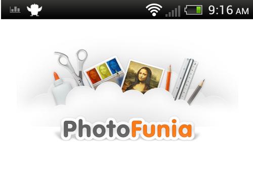 Aplikasi Photo Funia