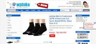 jasa toko online wordpress