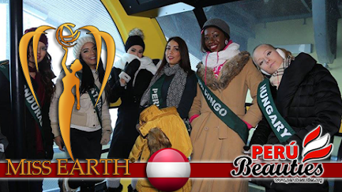 Miss Earth 2015 Climate Change Seminar at Dachstein Glaciers