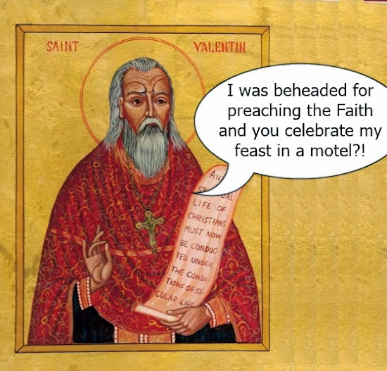 St. Valentine is not pleased