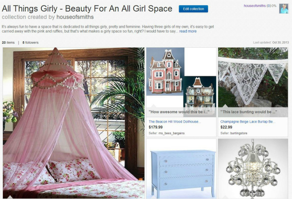 All Things Girly eBay Collection - thehouseofsmiths.com #eBayCollection #FollowItFindIt