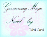 Giveaway Mega Novel by Mohd Zuhri