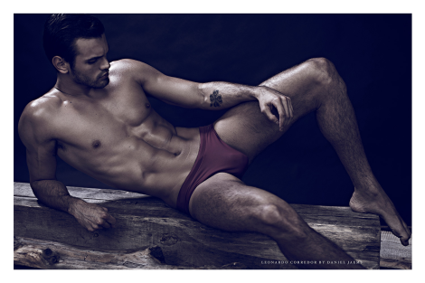 Leonardo Corredor by Daniel Jaems for 'Obsession'