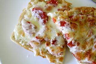 Resep praktis - roti panggang tomat keju yummy!