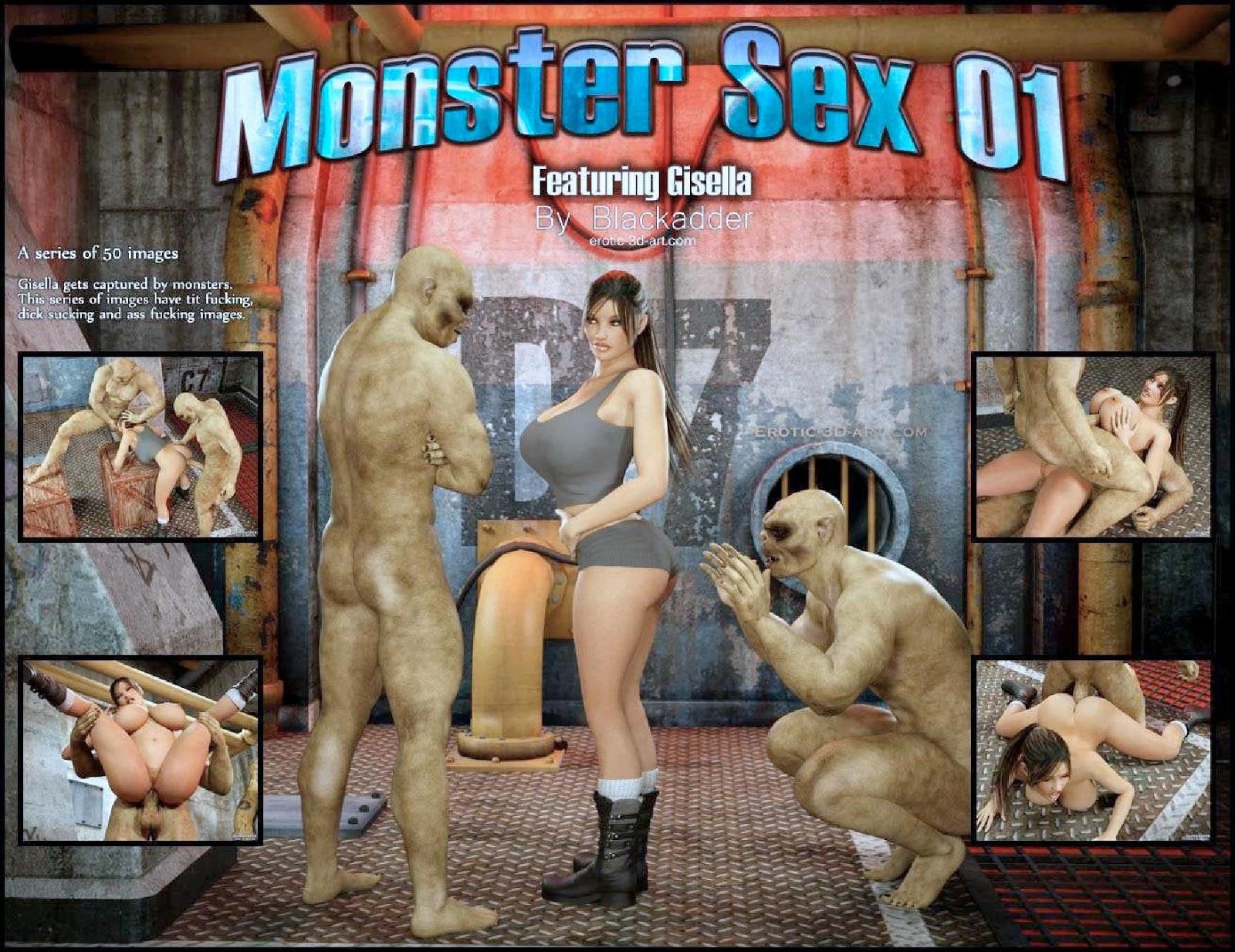 Секс с монстрами комиксов смотреть 5 фотография