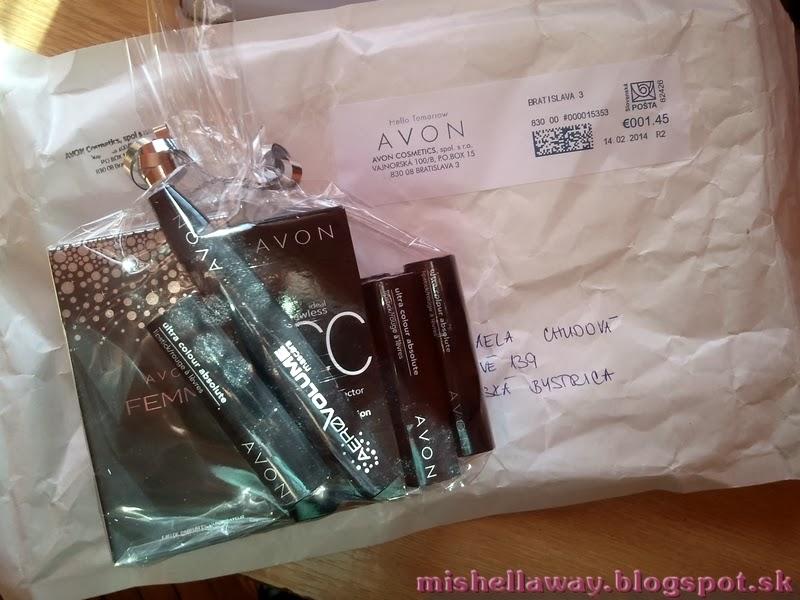 AVON prvý balíček a veľký comeback :)