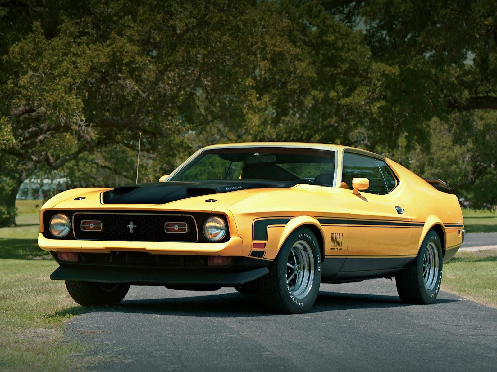 Fab Wheels Digest Fwd Ford Mustang Mach 1 2nd Gen 1971 73 1964 9 7 2 M O D E L S
