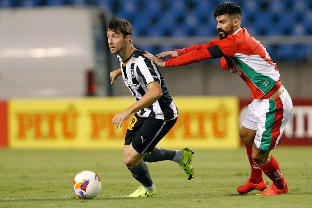 Botafogo tropeça em casa mas segue líder da Série B