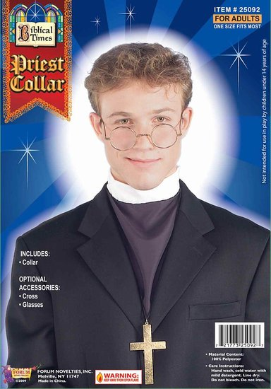 ive never worried much about identity theft i mean who would want to steal a priests identity right well i may have to rethink that if halloween