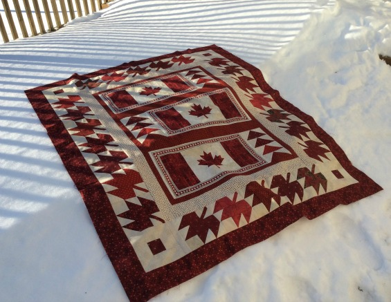 The Cuddle Quilter: Quilt of Valour : canadian quilting stores - Adamdwight.com