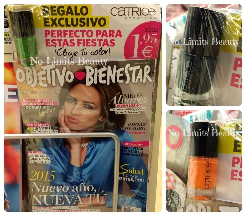 Regalos revistas Enero 2015: Objetivo bienestar