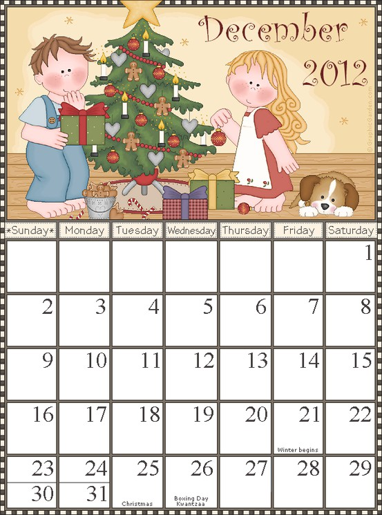 Graphic Garden has several cute themed printable calendars such as a ...: coleybelle.blogspot.com/2012/01/weekend-wonders-one-with-calendars...