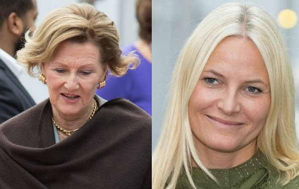 Queen Sonja And Princess Mette-Marit Attended The TUR Conference
