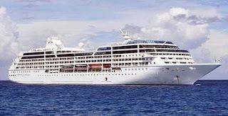 kapal pesiar hangus di filipina