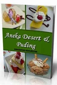 resep desert dan puding