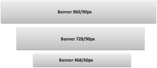 Formatos e tamanho dos banners no site Rádiocol