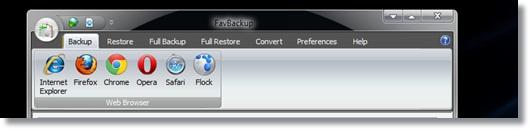 cara backup dan restore data dengan favbackup