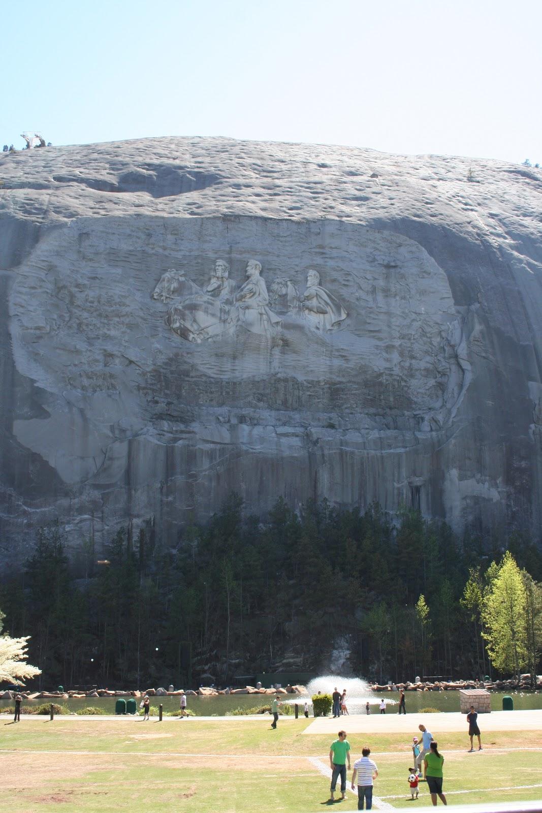 Elevation Of Stone Mountain : Sewn with grace stone mountain
