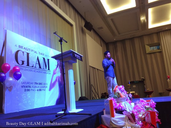 CDM Razali Zain in A Beautiful Day with GLAM and comapany Hai-O Marketing