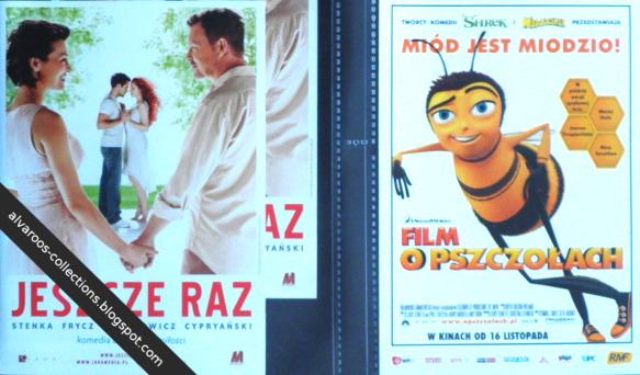 movie flyers - Jeszcze raz, Bee movie