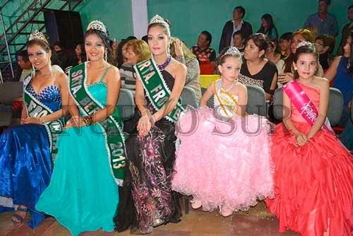 Martínez, Huarachi y Guerrero las representantes bermejeñas para el Miss Tarija