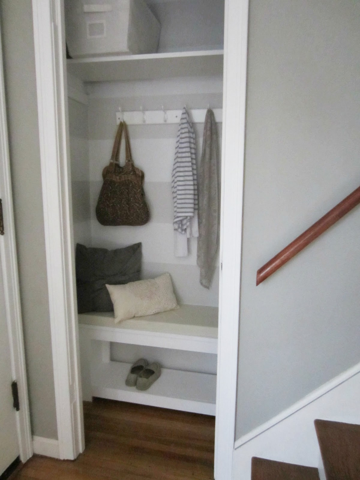 Superbe DIY Coat Closet Makeover