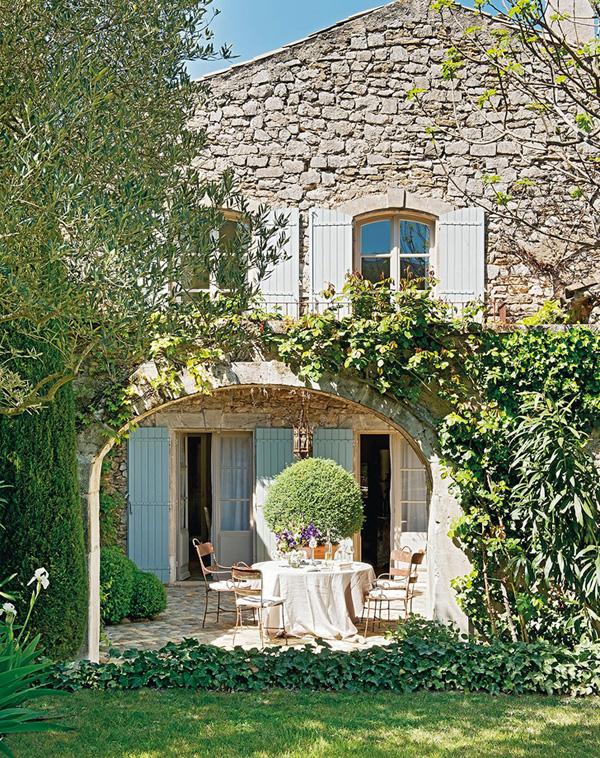 Estilo rustico casa rustica de campo en provenza - Casas con estilo rustico ...