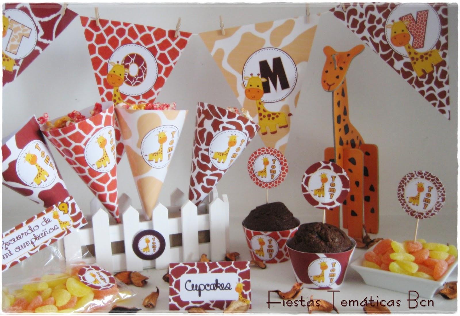 Fiestas tem ticas bcn kits de fiesta imprimibles kit - Decoracion fiestas bebes ...