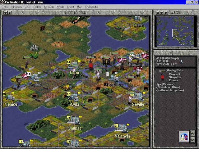 Civilization 2: Test of Time - Pollution Screenshot